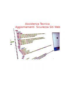 Manutenzione Assistenza Aggiornamenti Sicurezza Siti Web Annuale